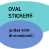 FULL COLOR Ovals